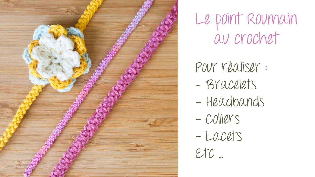 poinçon or bracelet le point roumain au crochet pour r 233 aliser bracelets 6914