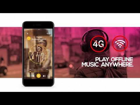 Best Music Player Android App | MP3 Player | Free Music App | Audio Player