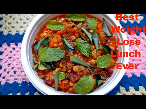 Red Rice For Weight Loss in Tamil|How to cook red rice in pressure cooker in tamil