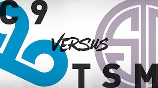 C9 vs. TSM | Round 3 Game 2 | NA LCS Regional Qualifier | Cloud9 vs. TSM (2018)