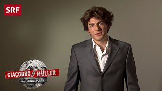 Lindt-Botschafter Federer | Giacobbo / Müller | SRF Comedy