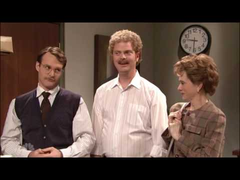 You'll Need A Pretty High Threshold For Tomfoolery   Will Forte, SNL, The New Officemate (2007)