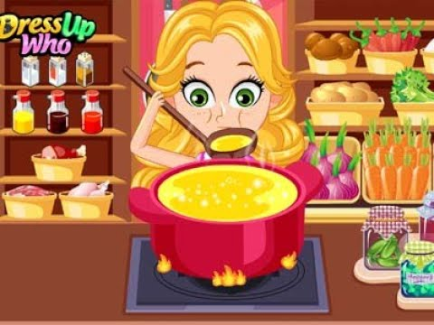 PRINCESS SOUP KITCHEN - Online Games for Kids // Awesome Game - 동영상