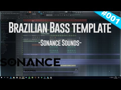 How To Make Brazilian Bass  - Alok Style FLP FL Studio