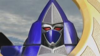Thunderstorm Megazord and Mini Zord First Battle | Power Rangers Ninja Storm