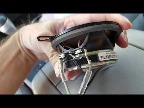 DIY Toyota Highlander Dash Speaker Replacement