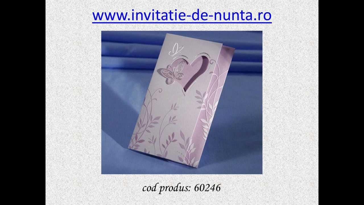 Invitatii Nunta Ieftine Youtube