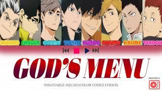 Download lagu GOD'S MENU (神메뉴) - HAIKYUU CHARACTERS EDITION 😋 (Lyrics Han/Rom/Eng) (Stray Kids)