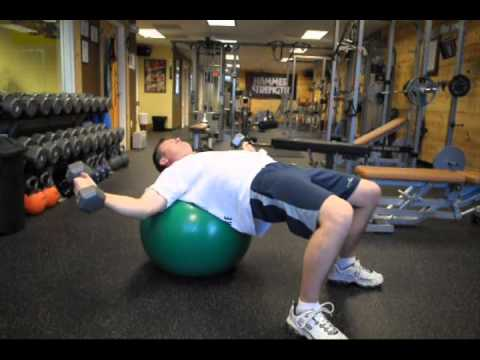 Golf Strength & Fitness – Wide fly & press with engaged core