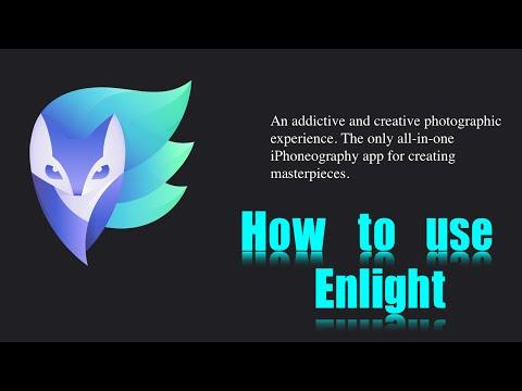 Enlight iPhone App | Full Walkthrough