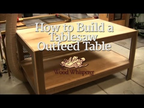 30  How to Build a Tablesaw Outfeed Table