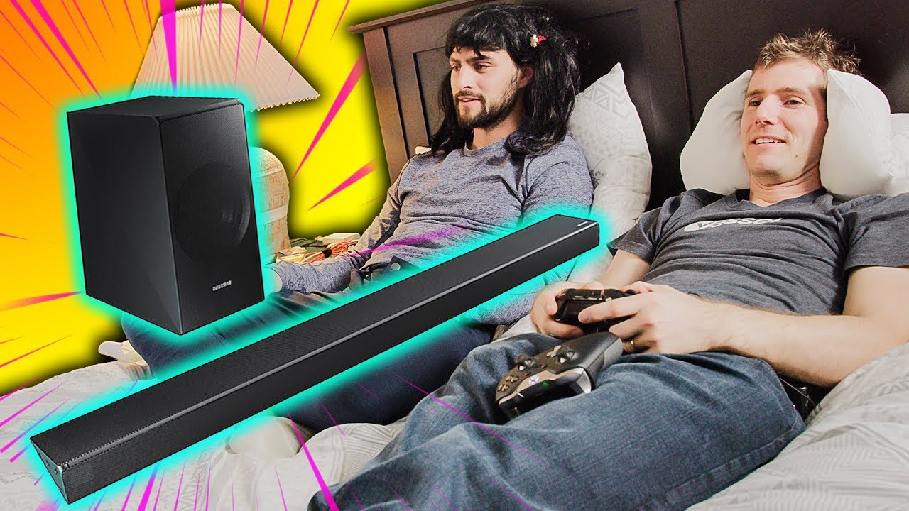 captivating bedroom gaming room setup | The Bedroom GAMING Setup - Samsung N650 Panoramic Soundbar ...