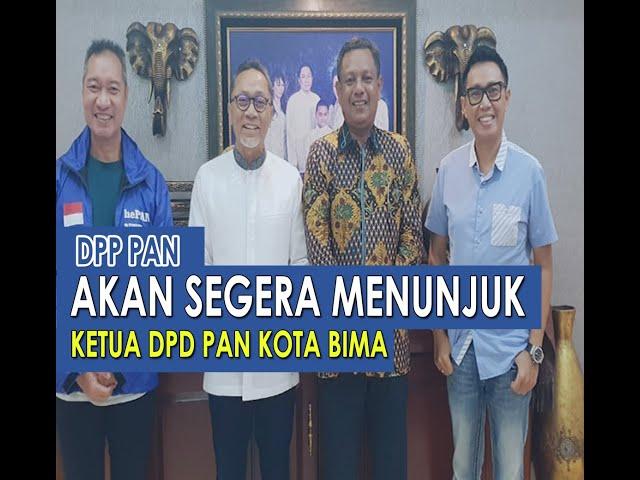 Penentuan Ketua PAN Kota Bima Diambil Alih DPP Pusat, Ini Alasannya