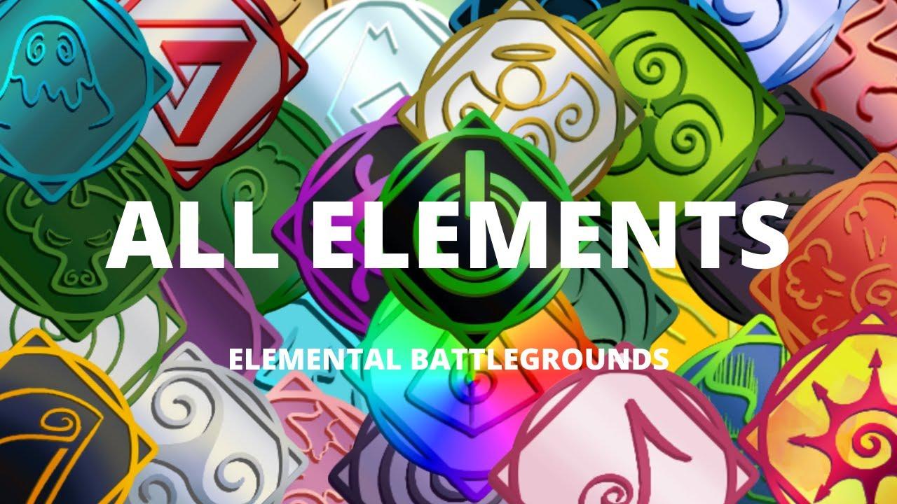 Download Showcasing All Elements | Elemental Battlegrounds - Roblox