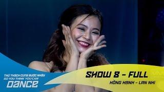 đường cong hồng hạnh lan nhi jazz show 8 thử thch cng bước nhảy 2016