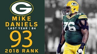#93: Mike Daniels (DE, Packers) | Top 100 Players of 2018 | NFL