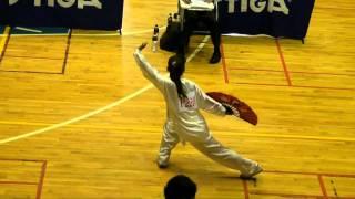2010世界盃桃園縣太極拳協會蔡文娟夕陽美功夫扇