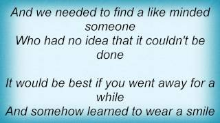 Tim Finn - Couldn't Be Done Lyrics