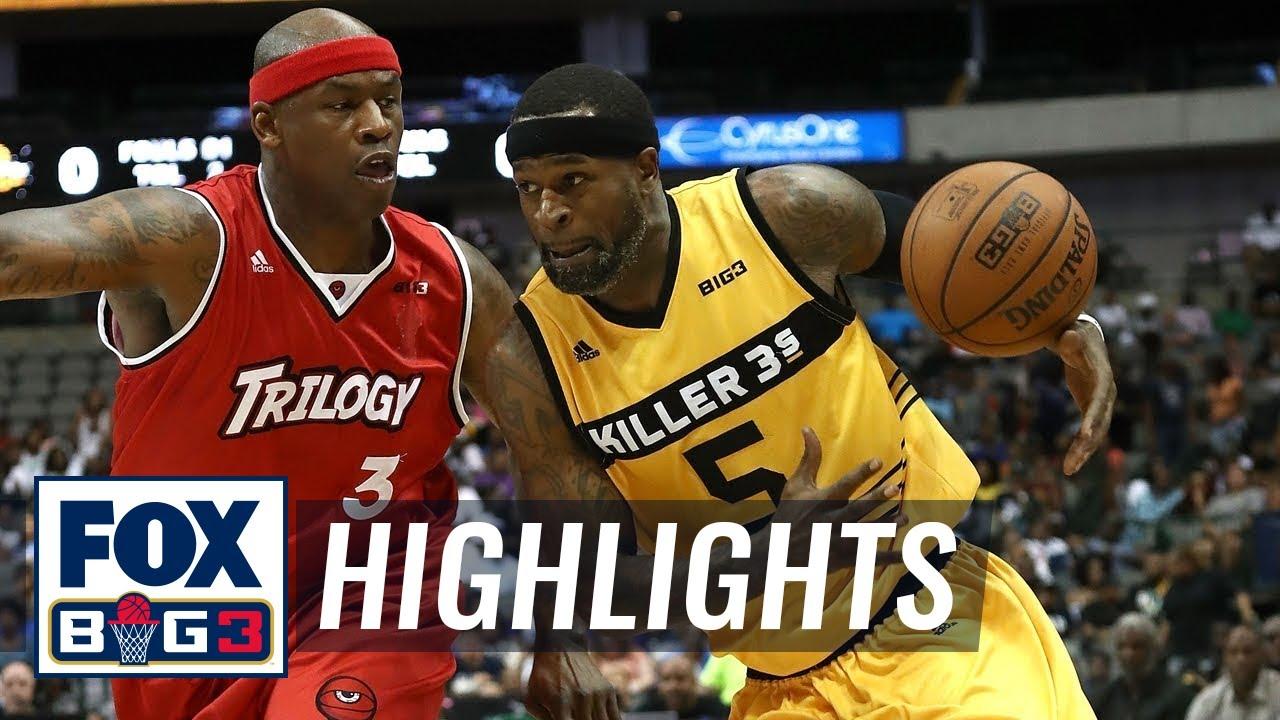 Killer 3's vs Trilogy | BIG3 HIGHLIGHTS