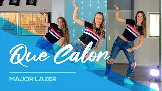 Major Lazer - Que Calor (feat. J Balvin & El Alfa) Easy Fitness Dance Video - Choreography - Coreo