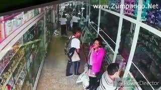 Robo a Farmacia de Zumpango Centro Camara 2