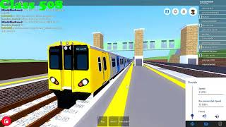 Roblox Mind the Gap All new trains departs p.7 (13.03.18r.)