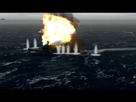 Let's play Atlantic Fleet Campaign. Part 3.