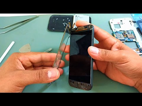 Como desmontar LG L70 D325, D325f, L90 D405, D410, D410h, Trocar Display LCD, Tela Touch screen