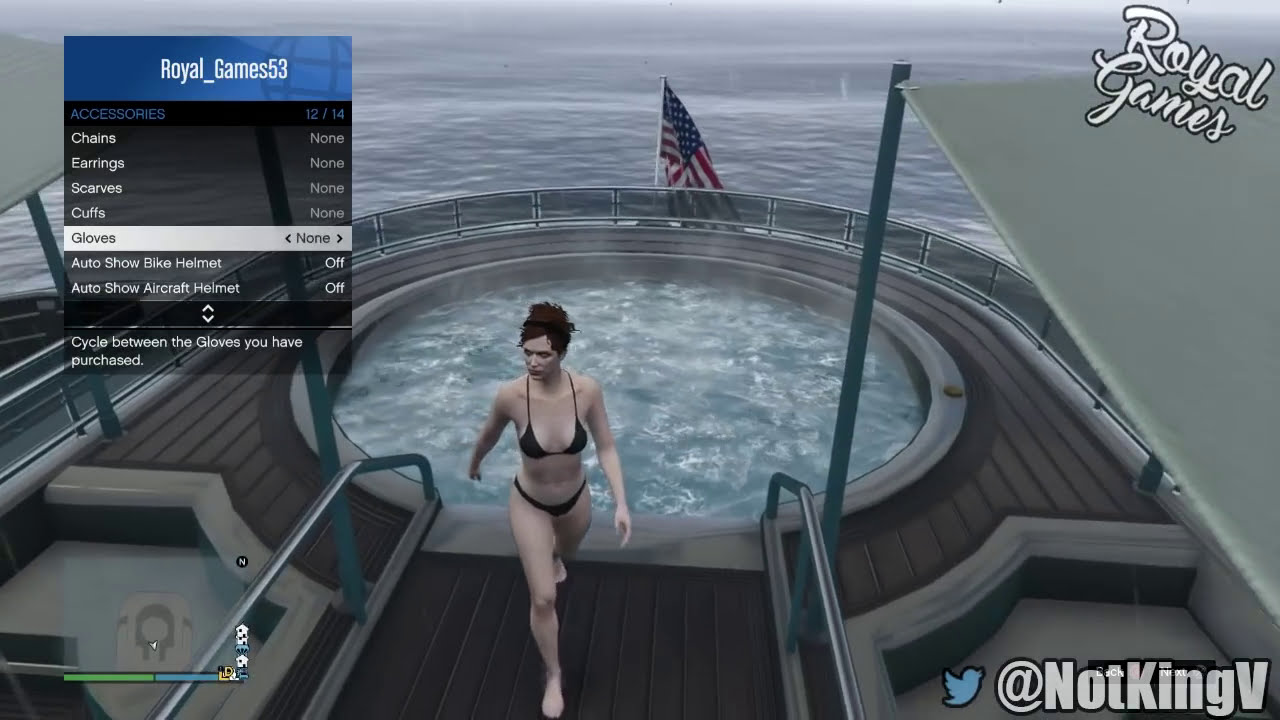gta 5 glitches: naked boobs glitch! - topless character bare boobs
