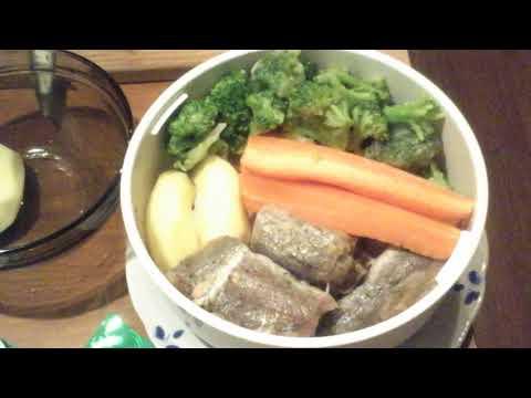 Питание для похудения. Рыба   на  пару  в  мультиварке