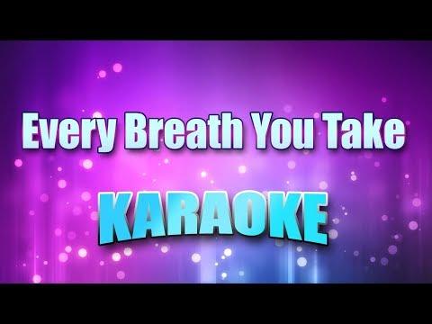 Police - Every Breath You Take (Karaoke & Lyrics)
