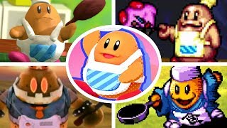All Chef Kawasaki Battles & Appearances in Kirby Games (1996-2018)