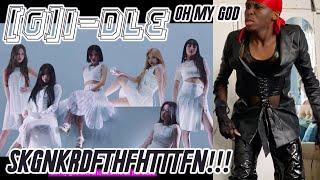 Baixar (G)I-DLE - Oh my god MV REACTION: I WANNA FIGHT SOMEBODY!!! 🤯😤😫☠️💖✨