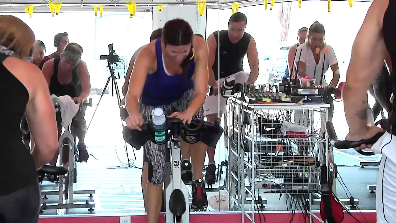Best full hour free online spin® class / cycling video part 2 w.