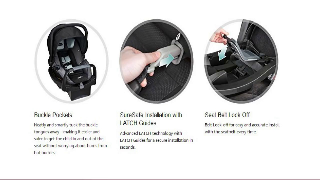 Awesome Idea Of Evenflo SafeMax Infant Car Seat Noelle