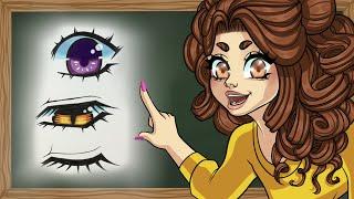 How to Draw Eyelashes!