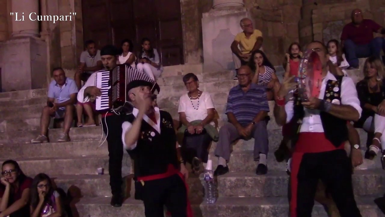 Musica Popolare Siciliana Li Cumpari Youtube