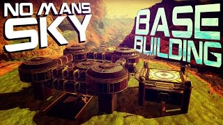 No Man's Sky Base Building - Experimental Base - Creative Mode (Foundation Update)