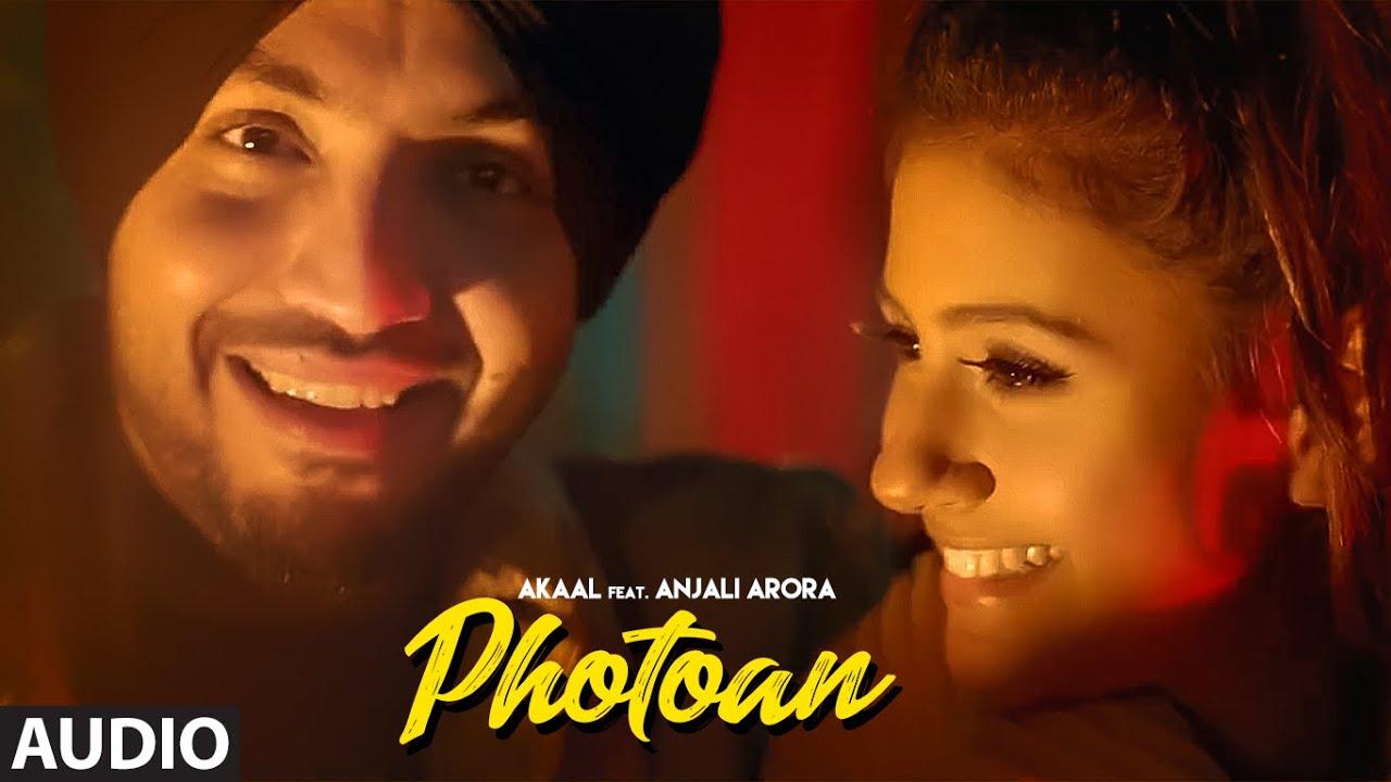 Photoan (Full Audio Song) Akaal Ft. Anjali Arora    Jaymeet   Jashan Jagdev   New Punjabi Songs
