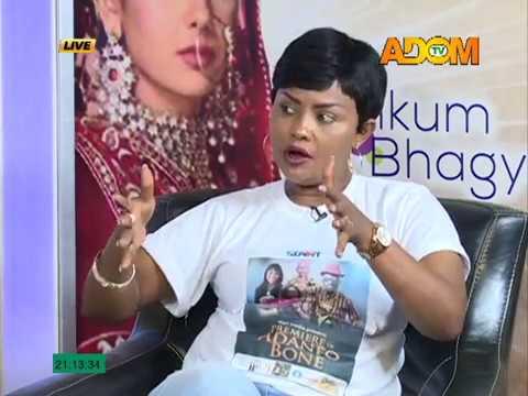 Nana Ama McBrown N Emelia Brobbey - Kumkum Bhagya Chat Room (24-5-17)