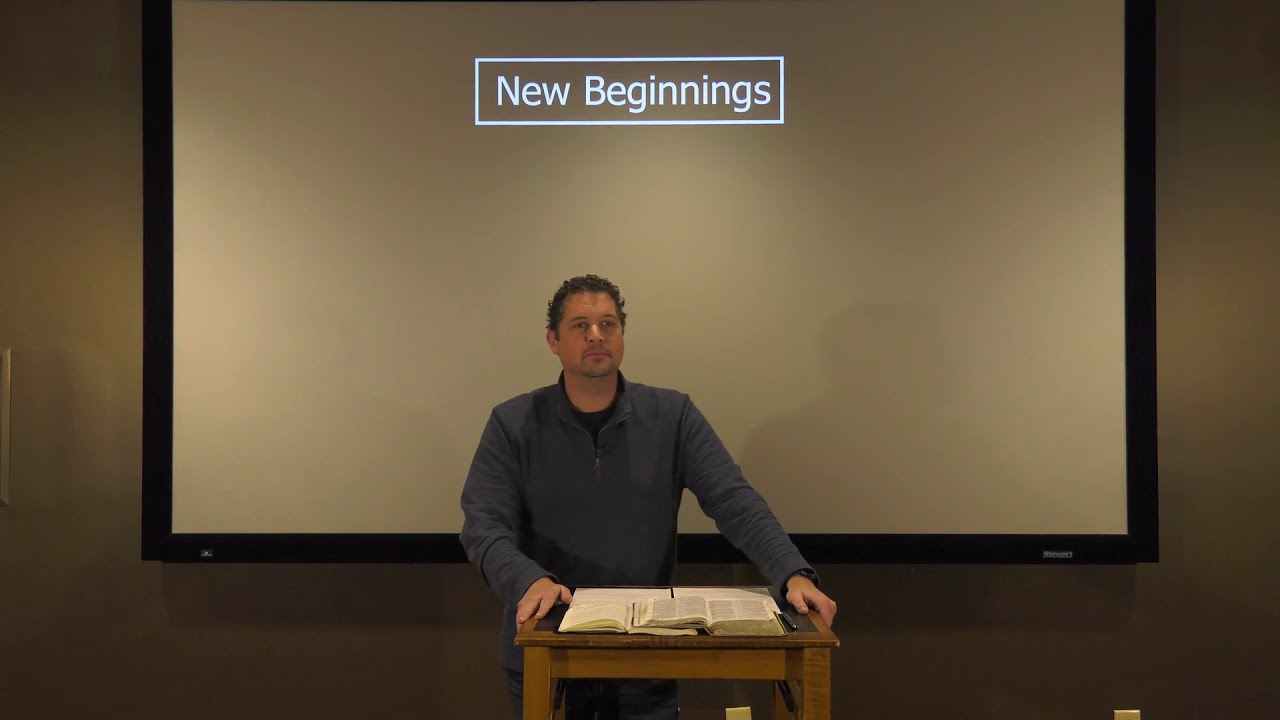 Studies in John - #125: New Beginnings