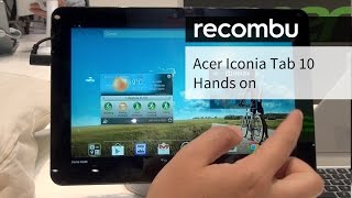 Acer Iconia Tab 10 hands-on tablet review