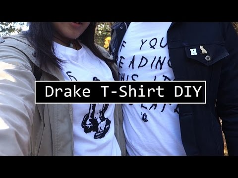 DIY Drake T-Shirt| Under $20 DIYs