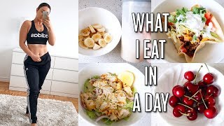 WHAT I EAT IN A DAY TO LOSE WEIGHT - Busy Lifestyle Edition!