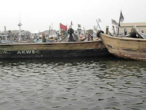 Returning to Tema Harbour, Ghana