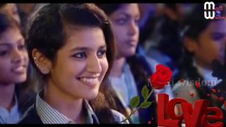 Gambar cover Priy prakash Varrier song, Status with telugu''Oru Adaar Love''||Multi wisdom