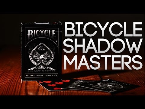Deck Review - Bicycle Shadow Masters Master Edtion Ellusionist