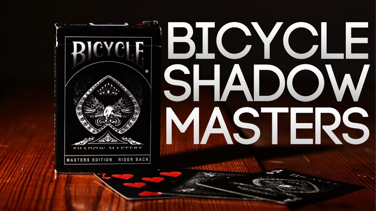 Deck Review - Bicycle Shadow Masters Master Edtion ...