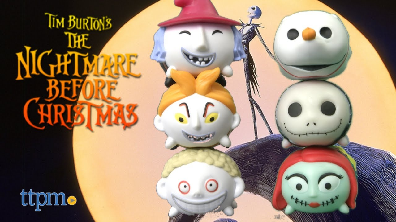 Disney Tsum Tsum Nightmare Before Christmas Seasonal Gift Pack from ...