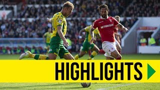 HIGHLIGHTS: Nottingham Forest 1-2 Norwich City